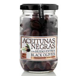 ACEITUNAS NEGRAS CRISTAL 180G