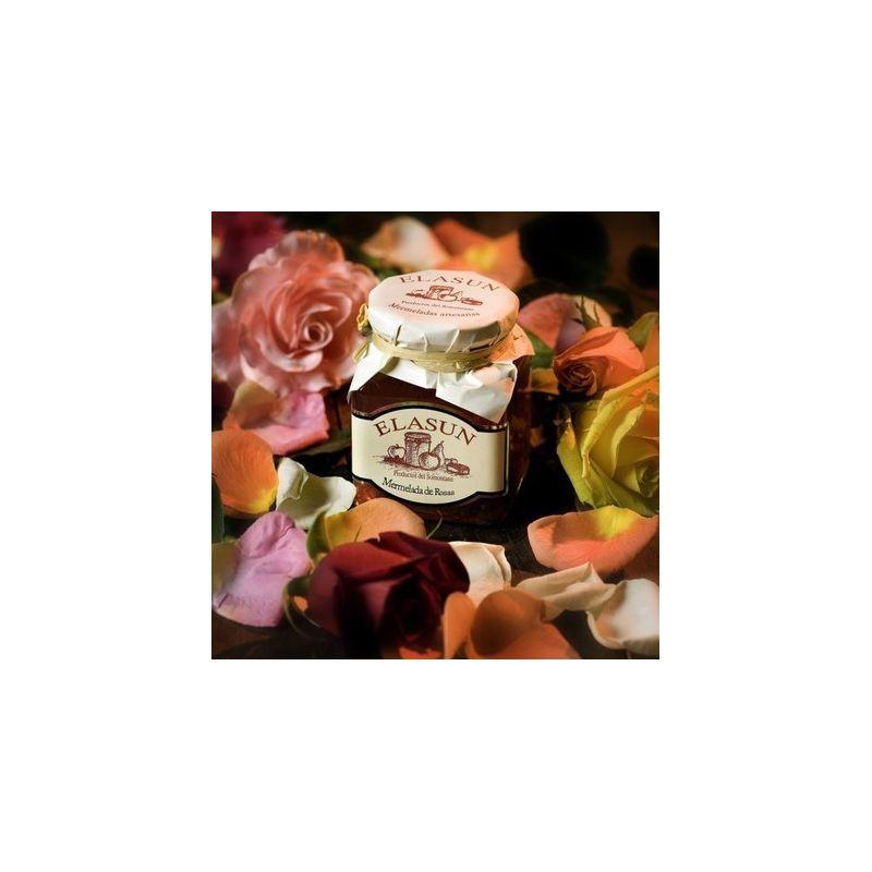 Mermelada de rosas.
