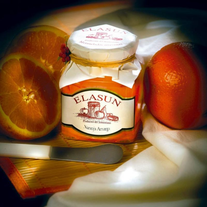 Mermelada  naranja amarga.