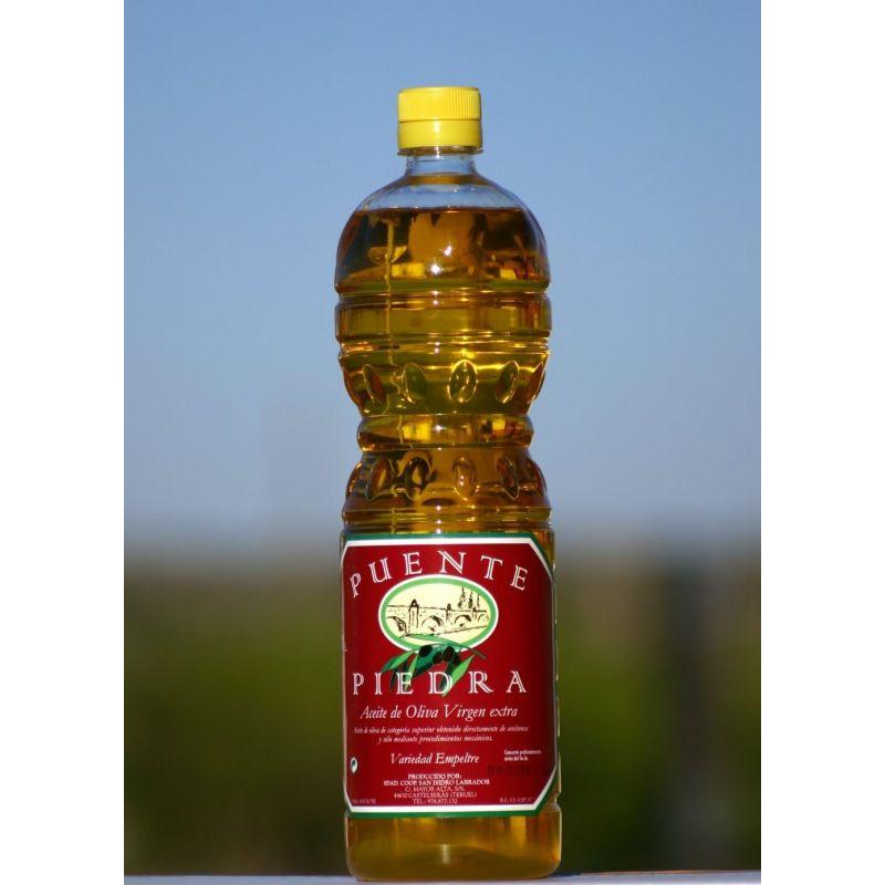 """Aceite de oliva virgen extra """"Puente de Piedra"""" 1 l"""