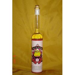 botella licor de azafrán la carrasca