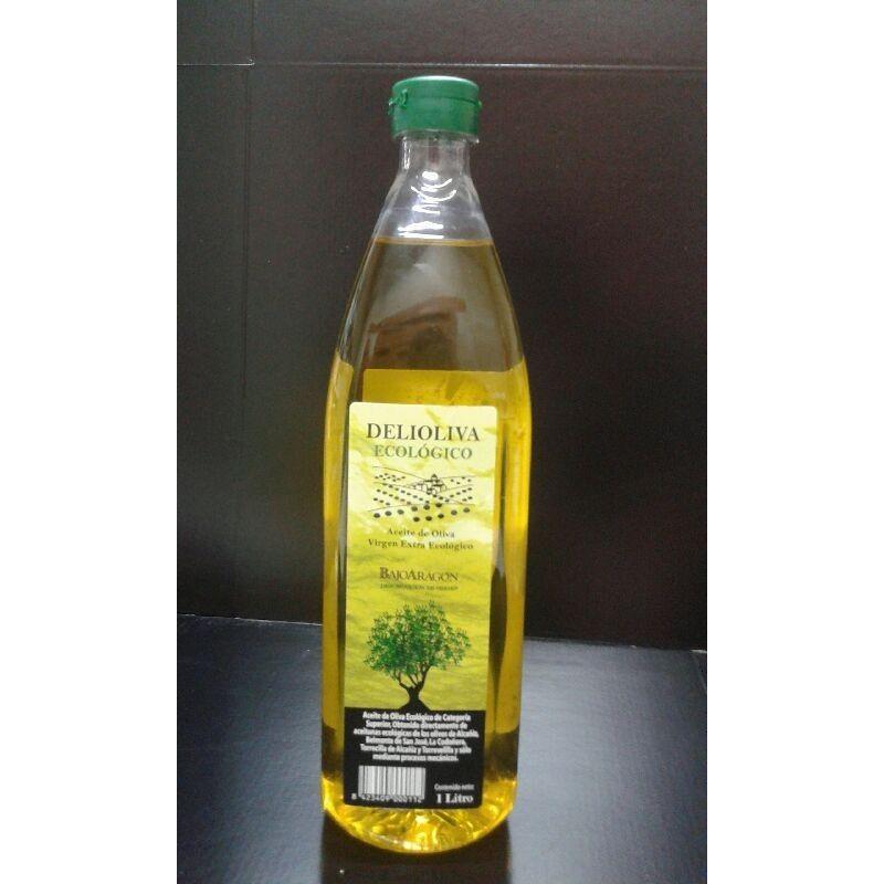 Aceite de oliva ecológico Delioliva 1 litro