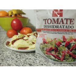 Tomate deshidratado para ensaladas.