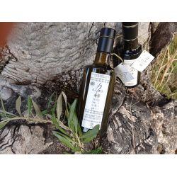Botella cristal aceite de oliva 1/2 litro