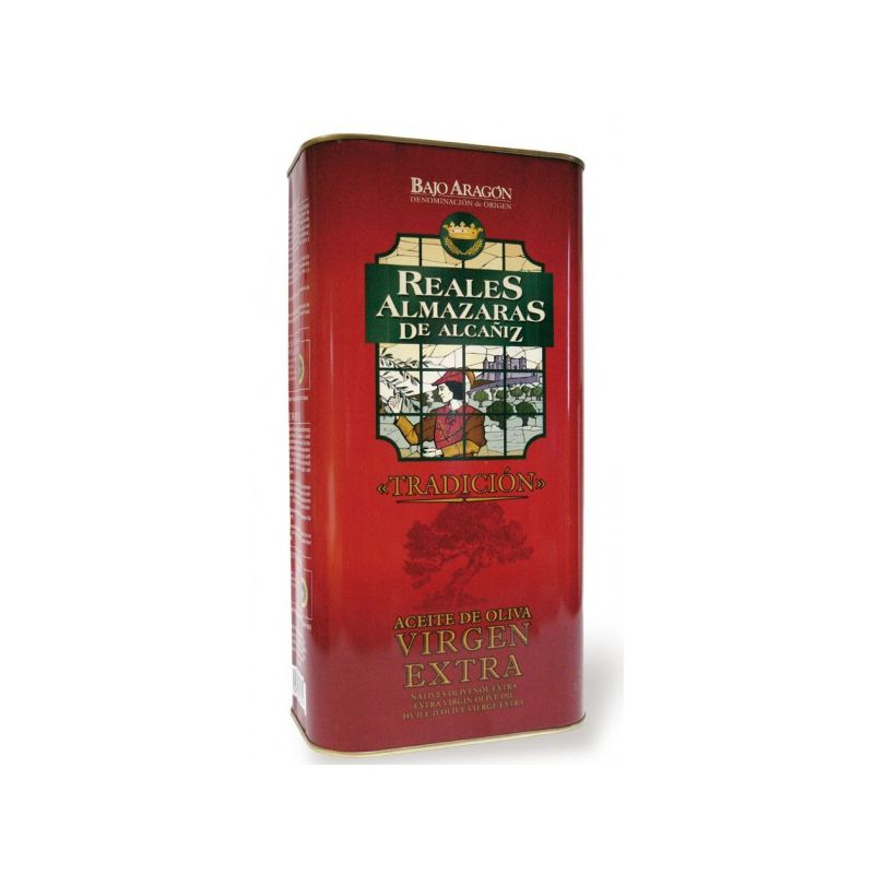 "Aceite de oliva ""Reales Almazaras"" lata 5L."
