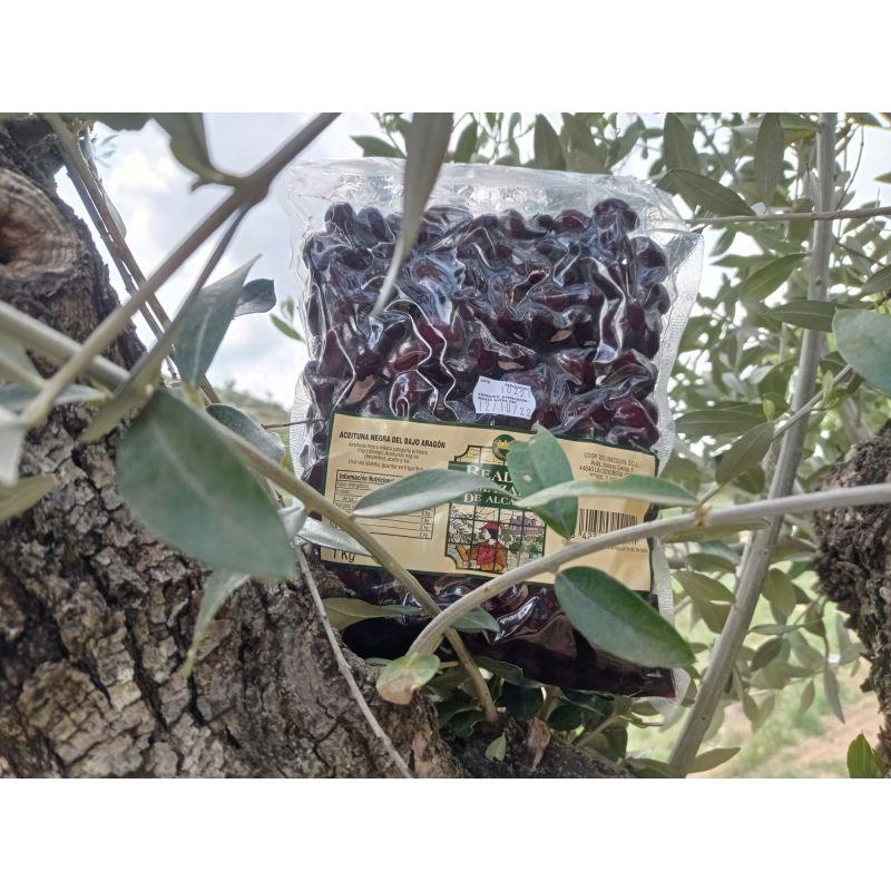 bolsa oliva negra de aragón 1 kg