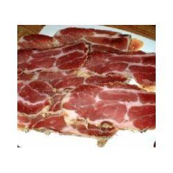 Cabezada de cerdo curada