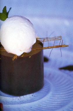 Turbante de chocolate con aceite de oliva
