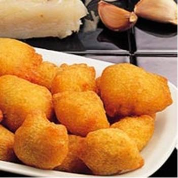 Buñuelos de jamón de Teruel